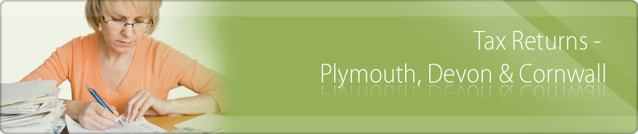 Tax Returns: Preparation for Self Employed & Inland Revenue Self Assessment: Plymouth Devon Cornwall